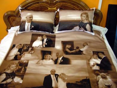 """Комплект постельного белья с фото """"Пара"""""""