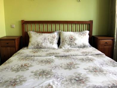 Комплект постельного белья из тенсела с букетами