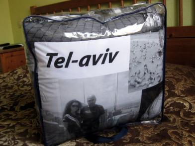 Покрывало с фотопечатью (фотоплед) Тель-Авив