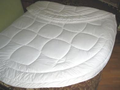 Одеяло круглое, экофайбер