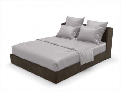 """Комплект постельного белья из бамбука """"серый"""""""