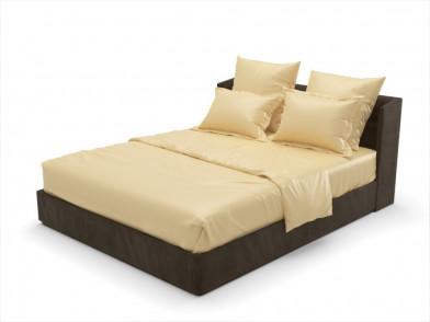 """Комплект постельного белья из эвкалипта """"гладкий медовый"""""""