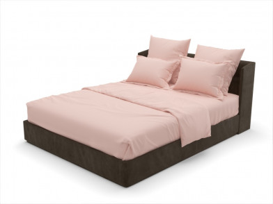 """Комплект постельного белья из сатина гладкого """"розовый"""""""