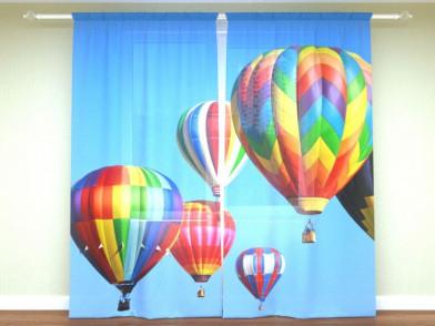 """Фотоштора """"Воздушные шары"""""""
