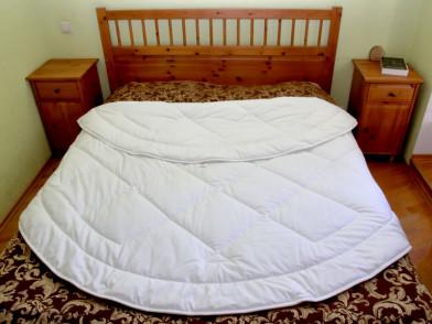 Одеяло круглое, бамбук в сатине