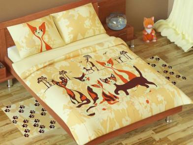 """Комплект постельного белья """"Кошки"""""""