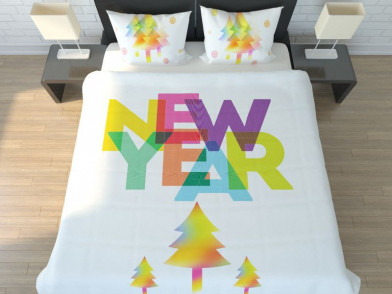 """Комплект постельного белья """"New Year"""""""