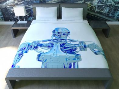 """Комплект постельного белья """"Робот"""""""