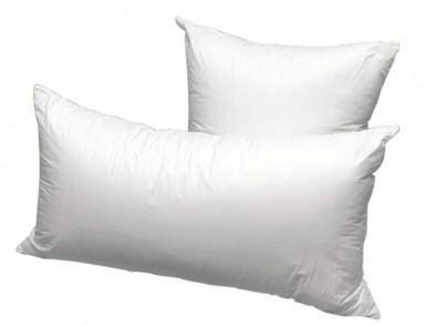 Подушка, экофайбер в сатине