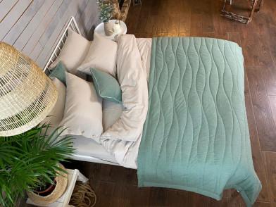 Покрывало-одеяло из гладкого эвкалипта